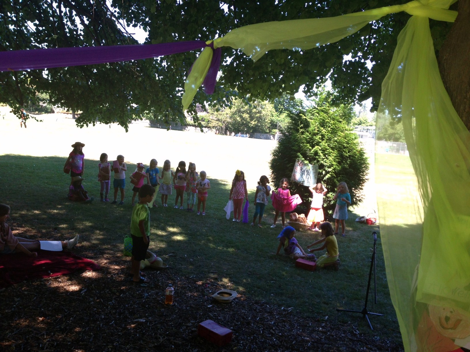 Theater in the Park Camp